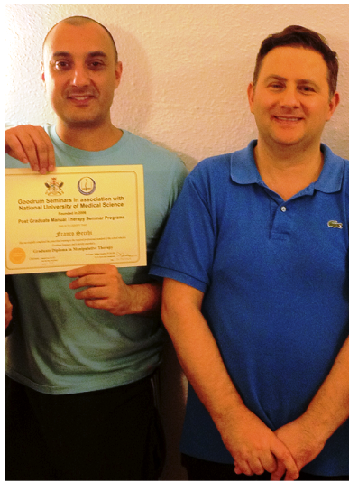 Franco Secchi Osteopath & Sports therapist (UK trained) M.Ost, DO, BSc SP, NASM PT